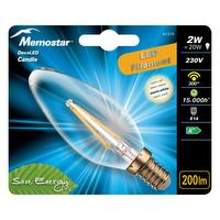 LED lamp met gloeidraad CANDLE 2W E14