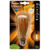 LED lamp vintage gold BULB 4W E27