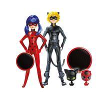 Miraculous - figurines Ladybug & chat noir