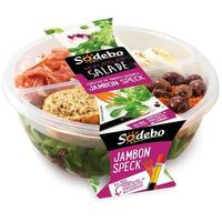 Salade repas – jambon et speck