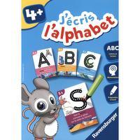 Jeu éducatif - j'écris l'alphabet