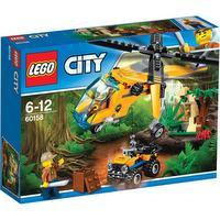 City - l'hélicoptère cargo jungle