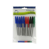 10 stylo-billes