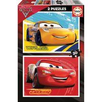 Puzzle 2 en 1 cars 3 - 2 x 20 pcs