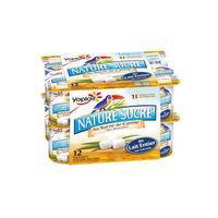 Nature sucré yaourt au sucre de Canne