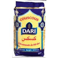Middelmatige couscous korrels