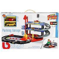 Garage 3 niveaux avec véhicules
