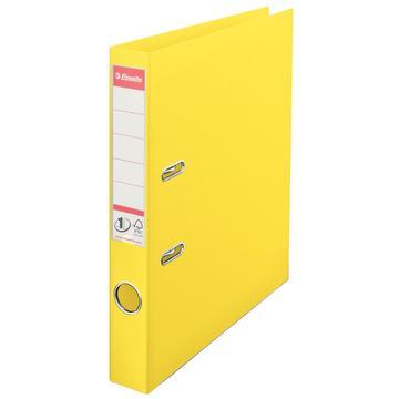 A4 vivida hefboommap, rug van 50 mm – geel