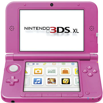Console 3DS.xl pink
