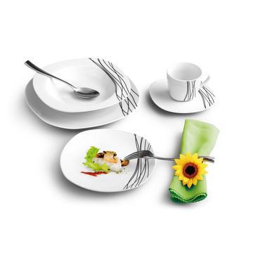 Service de table en porcelaine Anabel – 20 pèces