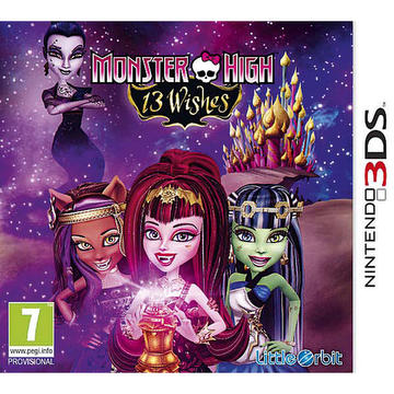 Jeu monster high T3 whishes pour 3DS