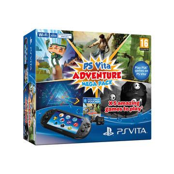 Console PS Vita Adventure Mega Pack
