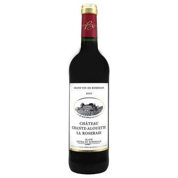 Château Chante-Alouette La Roseraie - 2015 - Blaye Côtes de Bordeaux