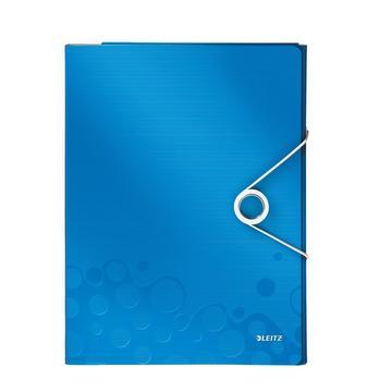 Dossier de réunion A4 WOW – bleu