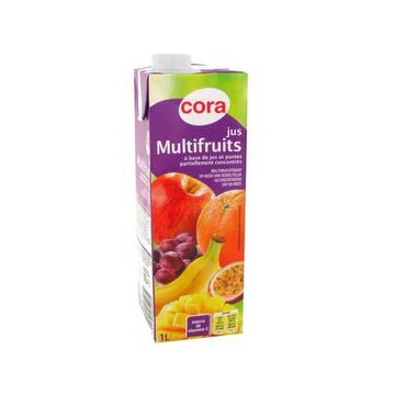 Jus multifruits