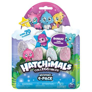 Jouet interactif hatchimals colleggtibles - 4 figurines