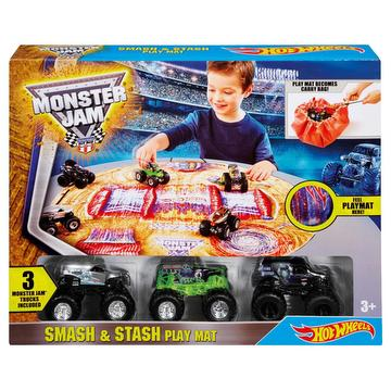 Hot Wheels - circuit tapis de jeu