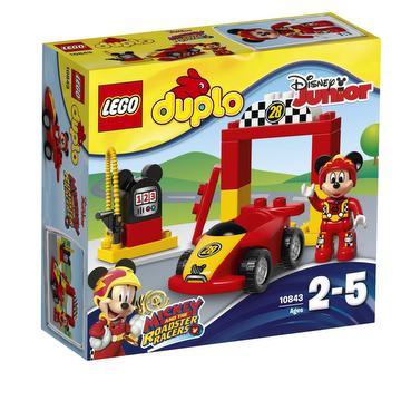 La voiture de course de Mickey