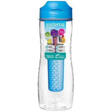 Fles met infuser in tritan
