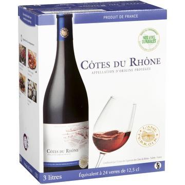 L'Âme du terroir - Bag in box - Côtes du Rhône