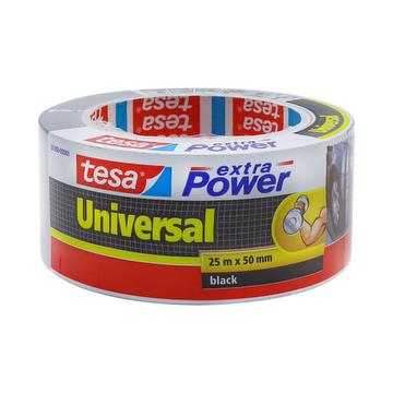Extra power universal 25 m X 50 mm black