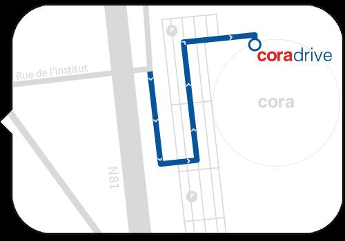 Carte Cora Messancy.Coradrive Drive Messancy Course En Ligne Belgique
