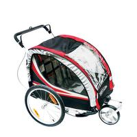 Fietskar/kinderwagen voor 2 kinderen