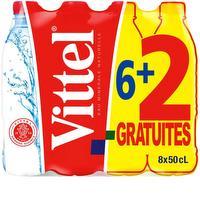 Eau minerale naturelle 6+2 gratis