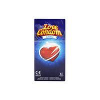 6 préservatifs lubrifiés