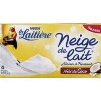 Neige de Lait saveur coco