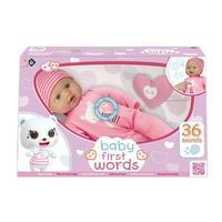 Bébé premiers mots 46 cm