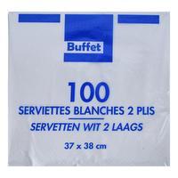 100 serviettes
