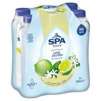 Gearomatiseerd water, limoen en jasmijn