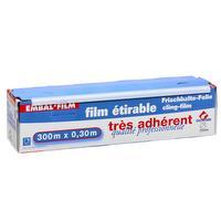 Film fraîcheur étirable très adhérent qualité professionnelle 300m x 30cm