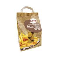 Pomme de terre frites en sachet