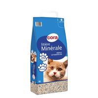 Minerale kattenbakvulling