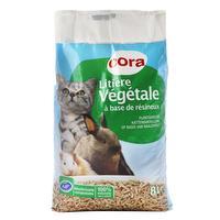 Plantaardige kattenbakvulling