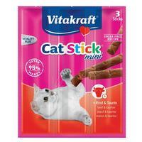 Friandises pour chat cat-stick mini – bœuf/taurine