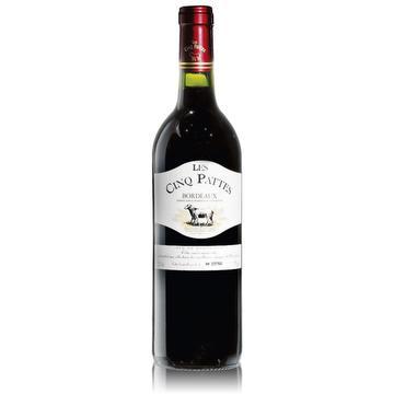 Les Cinq Pattes - 2013 - Cuvée numérotée - Bordeaux
