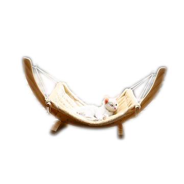 Hamac pour chats en pin