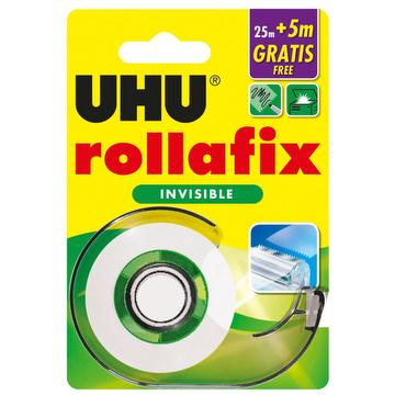 Rollafix – papier adhésif invisible 25m + 5m gratis