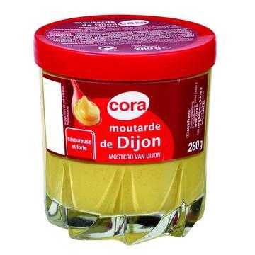 Mosterd van Dijon in whiskyglas