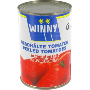 Tomates pelées au jus de tomates