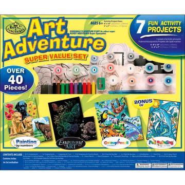 Art adventure - coffret 7 activités