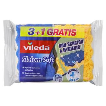 Récureurs slalom soft 3+1 gratis
