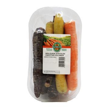 Wortelen kleur bakje