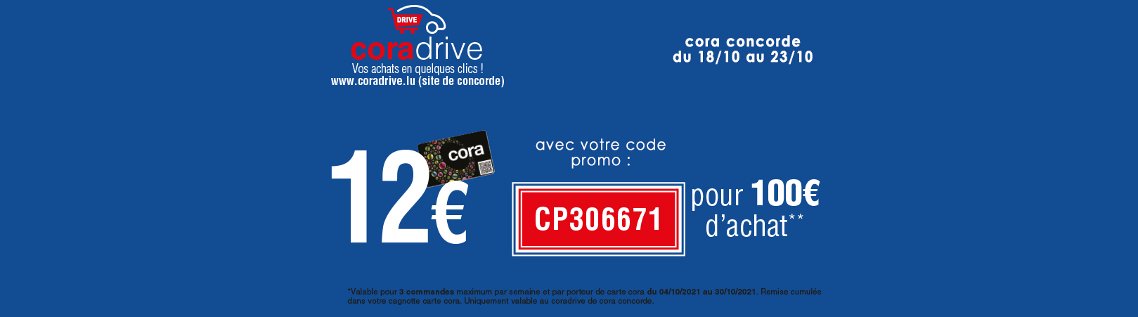 Offre coradrive