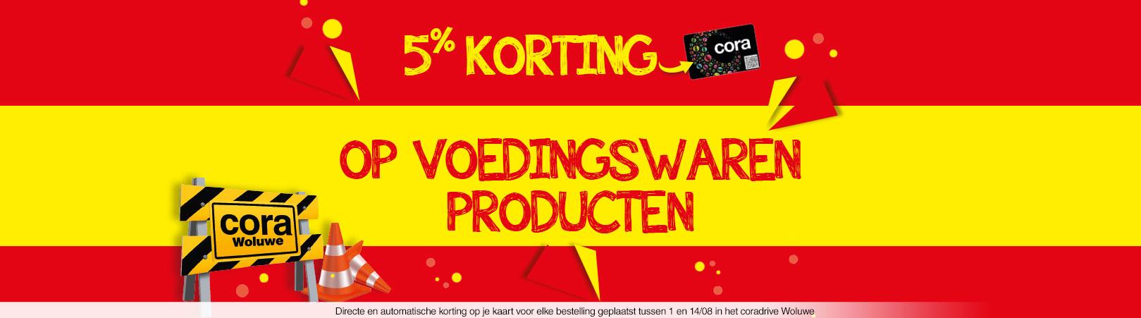 5% korting